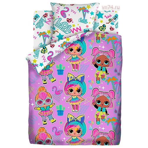 Детское постельное белье LOL Surprise! Neon Glow (поплин)