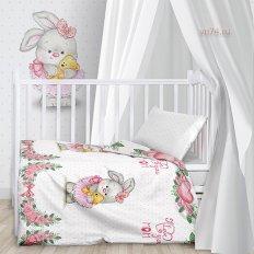 Детское постельное белье Juno Зайка балерина (поплин)