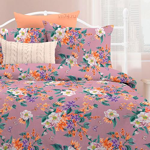 Постельное белье Любимый дом Весенний букет вид 2 (поплин)