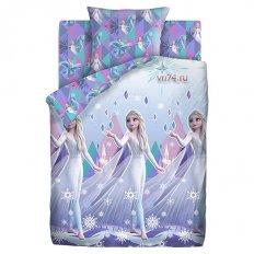 Детское постельное белье Холодное сердце Neon Магия Эльзы (поплин)