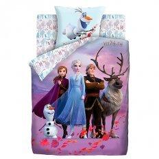 Детское постельное белье Холодное сердце Таинственный путь (поплин)