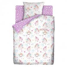 Детское постельное белье Juno Единорожки (бязь-люкс)