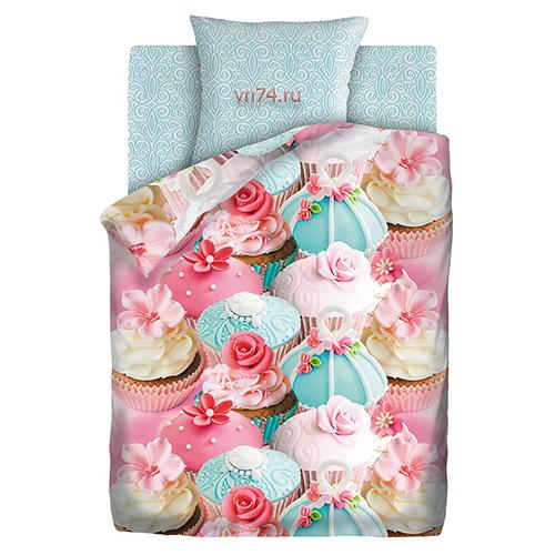 Детское постельное белье Juno Капкейк (бязь-люкс)