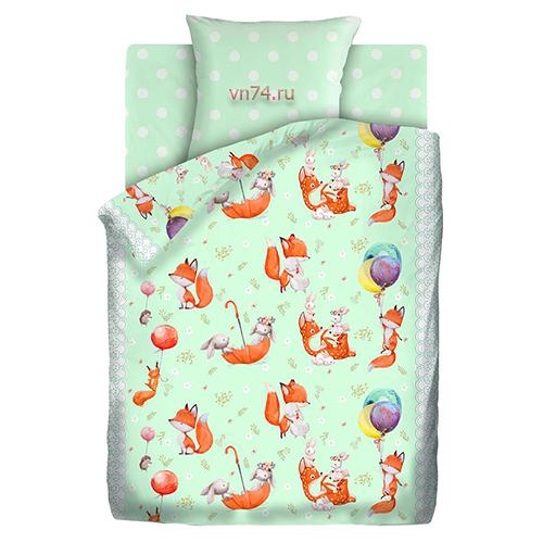 Детское постельное белье Juno Лисята (бязь-люкс)
