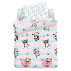 Детское постельное белье Juno Малыши девочки (поплин)