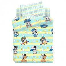 Детское постельное белье Juno Малыши мальчики (поплин)