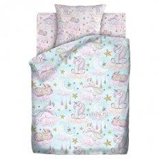 Детское постельное белье Juno Сказочные единороги (бязь-люкс)