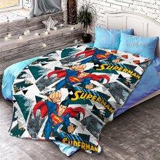 Детское покрывало Непоседа стёганное Супермен (хлопок)