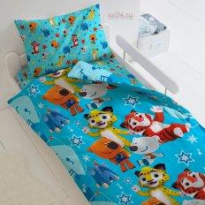 Детское постельное белье Мульт Мальчишки (поплин)