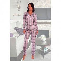 Пижама женская кулирка 2612 лаванда