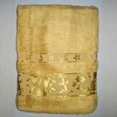 Полотенце бамбуковое Passionesa Aura золотистый