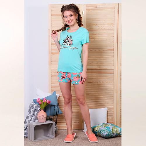Пижама женская Дружок-2 (кулирка)