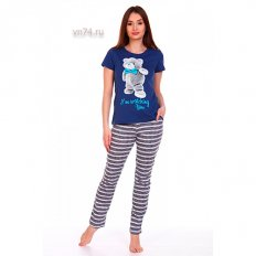 Пижама женская HomeSlyle 1175К (кулирка)