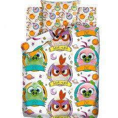 Детское постельное белье Angry Birds Птенчики (бязь-люкс)