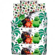 Детское постельное белье Angry Birds Птичий остров (бязь-люкс)