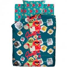 Детское постельное белье Angry Birds Заморозка (бязь-люкс)