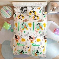 Детское постельное белье Disney Funny Mickey (поплин)