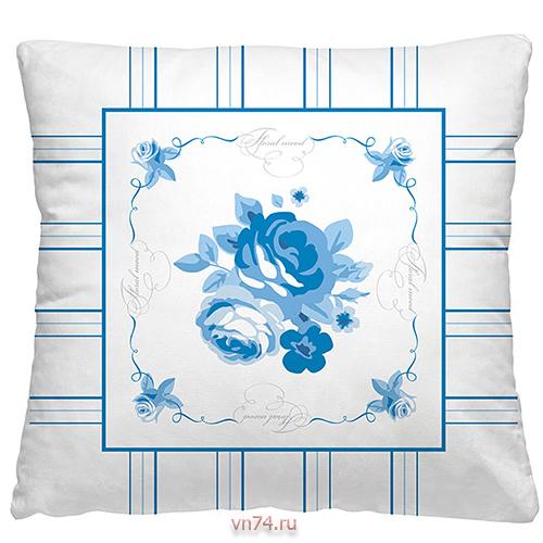 Подушка декоративная 40 x 40 Гжель 1