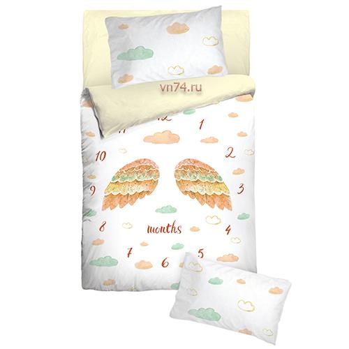 Детское постельное белье Облачко 26004 (бязь-люкс)