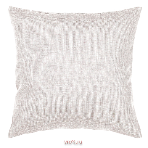 Подушка декоративная 40 x 40 рогожка экрю