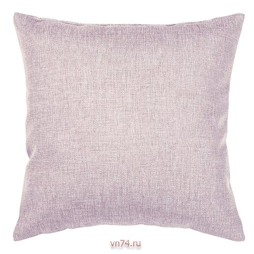 Подушка декоративная 40 x 40 рогожка пудра