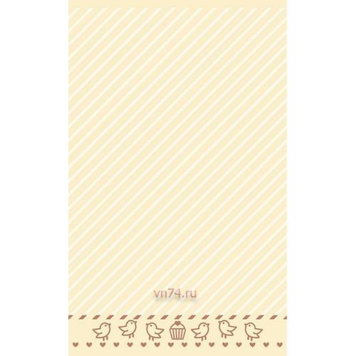 Полотенце детское Sole Mio Птички Ванильный