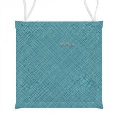 Подушка для стула СД хб 40x40 Лен голубой