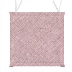 Подушка для стула СД хб 40x40 Лен розовый