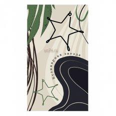 Полотенце вафельное Verossa 35x70 Кулинарная звезда (крупная клетка)