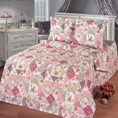 Постельное белье Арт-постель Лоскутная мозаика роз (бязь-люкс)