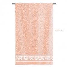 Полотенце махровое Aquarelle Fluid lace Розово-персиковый