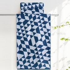 Полотенце махровое Aquarelle Орион Вид 3 темно-синий