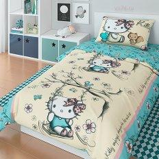 Постельное белье Hello Kitty Kitty (ранфорс)