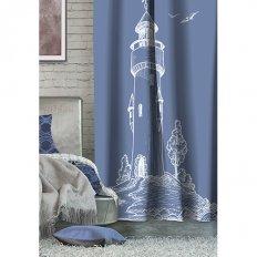 Штора Волшебная ночь Лофт Lighthouse Блэкаут (1 предмет)