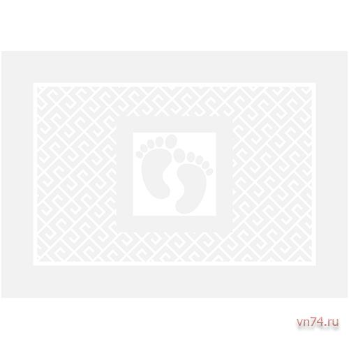 Полотенце махровое Коврик для ног Вид 2 Белый