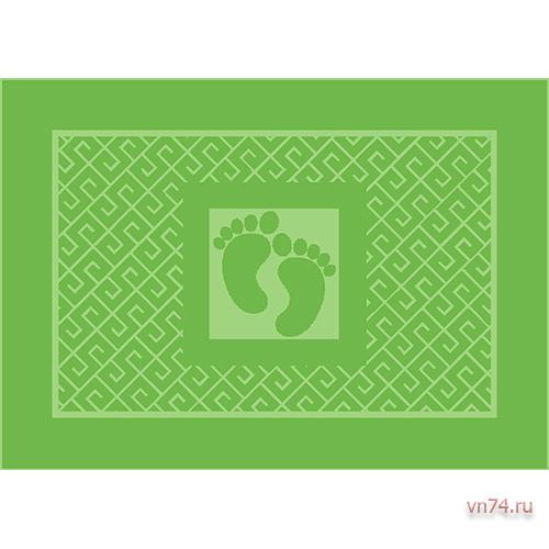 Полотенце махровое Коврик для ног Вид 2 Травяной