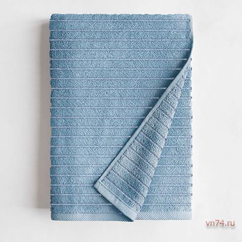 Полотенце махровое Волшебная ночь Wave Пудровый голубой