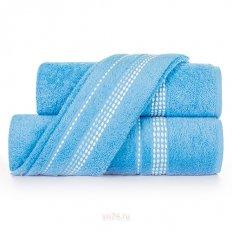 Полотенце махровое Самойловский Текстиль Лето cпокойный синий