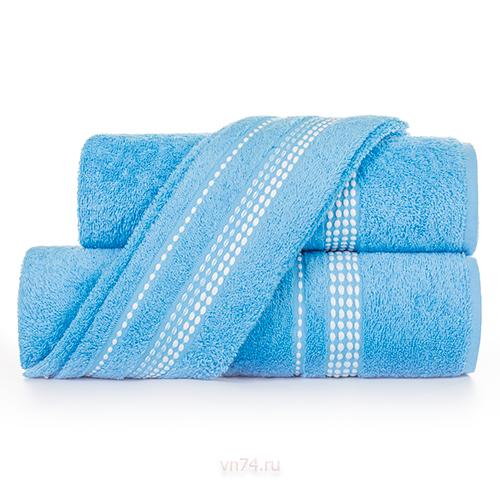 Полотенце махровое Aquarelle Лето cпокойный синий