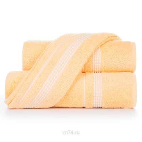 Полотенце махровое Aquarelle Лето светло-желтый