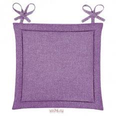 Подушка для стула HS рогожка 40x40 Фиалка