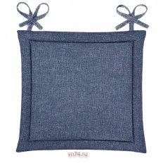 Подушка для стула HS рогожка 40x40 Индиго