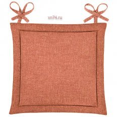 Подушка для стула HS рогожка 40x40 Коралл