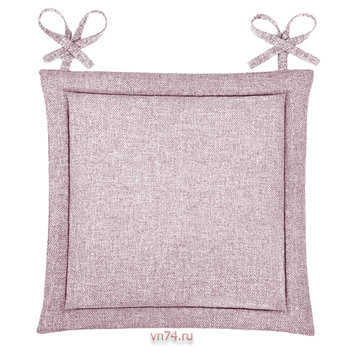 Подушка для стула HS рогожка 40x40 Пудра