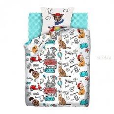 Детское постельное белье For You Fun&Cute Funny cats (поплин)