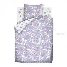 Детское постельное белье For You Лиловый пейсли (бязь-люкс)