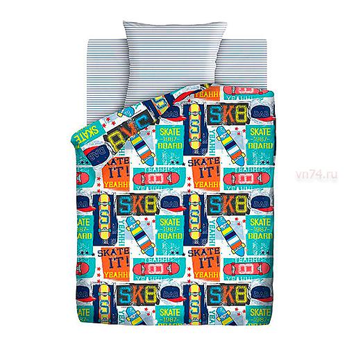 Детское постельное белье Juno Скейт (бязь-люкс)