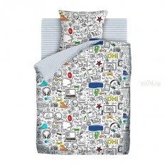 Детское постельное белье Juno Скетч маркеры (бязь-люкс)