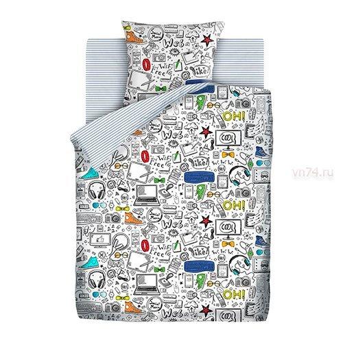 Детское постельное белье Juno Скетч (бязь-люкс)