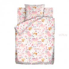 Детское постельное белье Кошки-мышки Балерины (бязь-гост)
